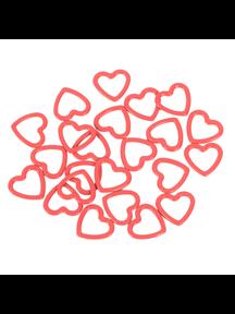 KnitPro Knitpro metalen hart stitchmarkers 40sts