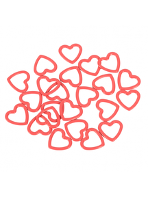 Knitpro metalen hart stitchmarkers 40sts