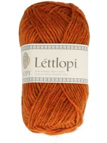 Istex lopi Lett lopi - 1410 - orange - discontinued