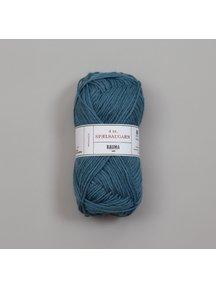 Rauma 4-tråds spælsaugarn - 638 - Blauw