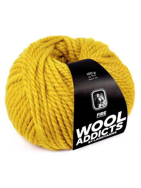 Lang Yarns Wool Addicts FIRE 0011