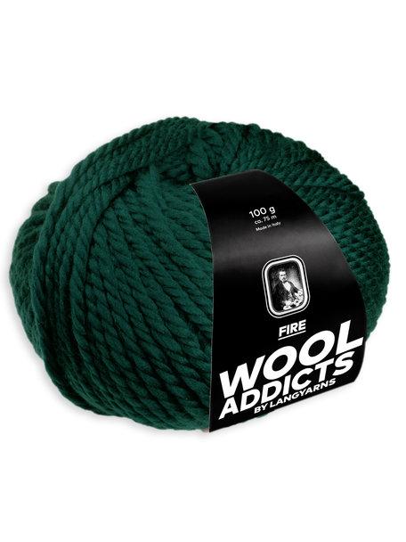 Lang Yarns Wool Addicts FIRE 0018