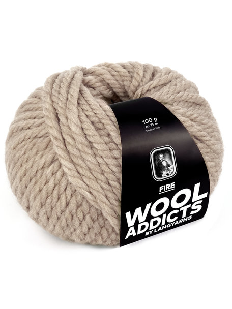 Lang Yarns Wool Addicts FIRE 0026