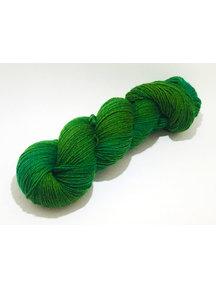 Mina Dyeworks Socksanity - 100gram=420m 75% wol 25% nylon - ''Boerenkool''