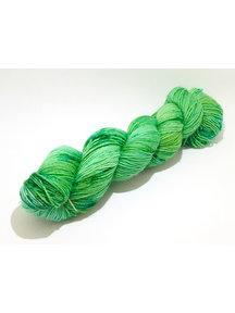 Mina Dyeworks Socksanity - 100gram=420m 75% wol 25% nylon - ''Brassica oleracea''