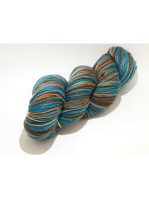 Mina Dyeworks Socksanity - 100gram=420m 75% wol 25% nylon - ''Chronos''