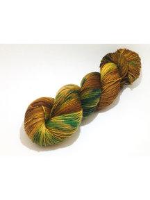 Mina Dyeworks Socksanity - 100gram=420m 75% wol 25% nylon - ''Grand Mesa''