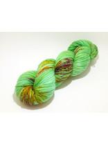 "Sticks & Cups Socksanity - 100gram=420m 75% wol 25% nylon - ""Green Orchid"""