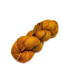 Mina Dyeworks Socksanity - 100gram=420m 75% wol 25% nylon - ''Garam Masala''
