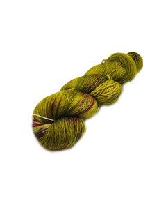 Mina Dyeworks Socksanity - 100gram=420m 75% wol 25% nylon - ''Baklava''