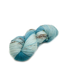 "Sticks & Cups Pardis - ""Blue Snow Owl"" - 150g - 390m - 80% SW Merino 20% Polyamide - 4-6mm"
