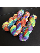 "Sticks & Cups Socksanity - 100gram=420m 75% wol 25% nylon - ""Unicorn (they/them)"""