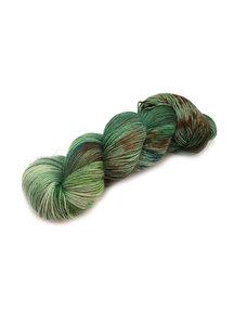 Mina Dyeworks Socksanity - 100gram=420m 75% wol 25% nylon - ''Medusa''