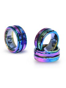 Rainbow Knitpro Row Counter Ring size 8: 18.2mm