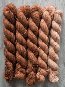 Sticks & Cups Balayage - Beurs van Berlage - 5x 20gr 75%BFL - 25% nylon - 400m