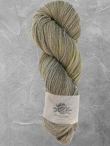 "Mina Dyeworks Wollin - ""Olive"" - 400m - 100g - 85% wool 15% linen"