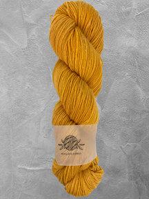 "Mina Dyeworks Wollin - ""Citrus"" - 400m - 100g - 85% wool 15% linen"