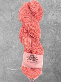 "Mina Dyeworks Wollin - ""Salmon"" - 400m - 100g - 85% wool 15% linen"