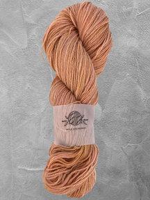 "Mina Dyeworks Wollin - ""parchment"" - 400m - 100g - 85% wool 15% linen"