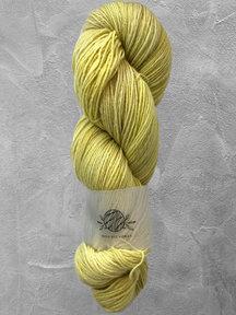 "Mina Dyeworks Wollin - ""Lemon"" - 400m - 100g - 85% wool 15% linen"