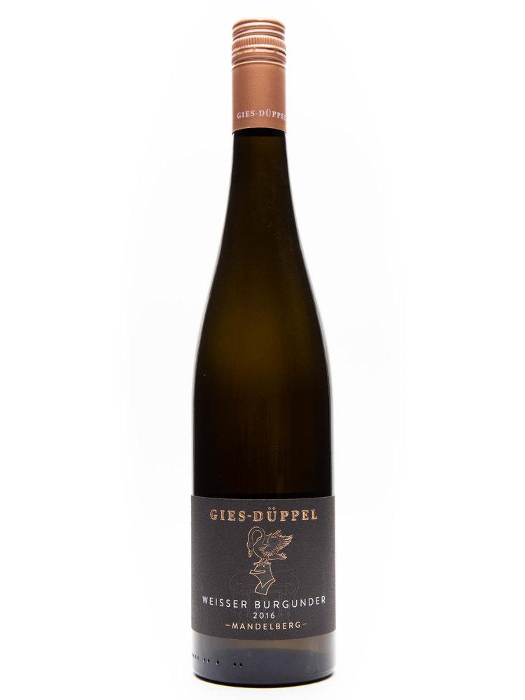 Gies Düppel Gies-Düppel  - Weisser Burgunder Birkweiler Mandelberg 2016