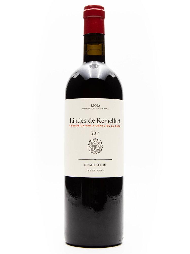 Bodegas Remelluri Bodegas Remelluri - Rioja Lindes Remelluri San Vicente 2014