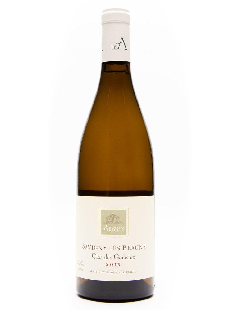 """d'Ardhuy - Savigny Blanc """"Clos des Godeaux"""" 2015"""