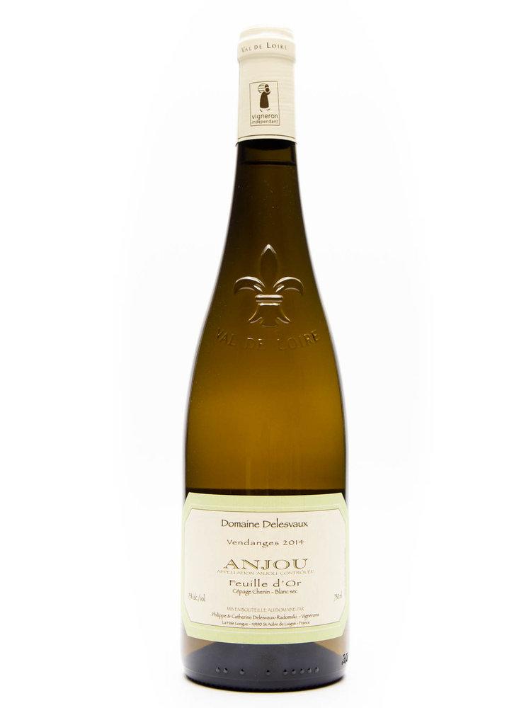Delesvaux - Anjou Blanc Feuille dOr  (Dry) 2014