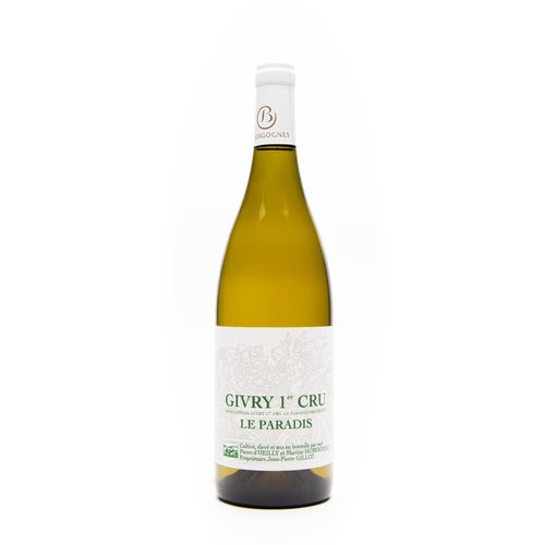 d'Heilly Huberdeau Dom. d'Heilly Huberdeau - GIVRY Le Paradis 2014