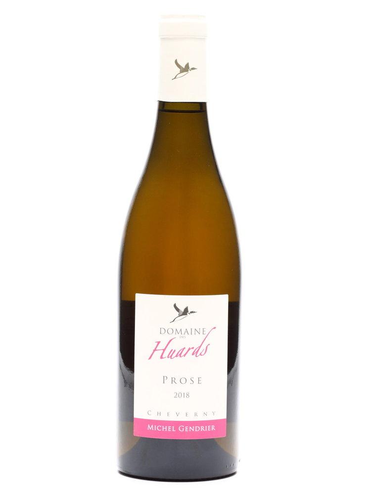 Huards - Jocelyne & Michel GENDRIER   Domaine des Huards - Prose rosé 2018