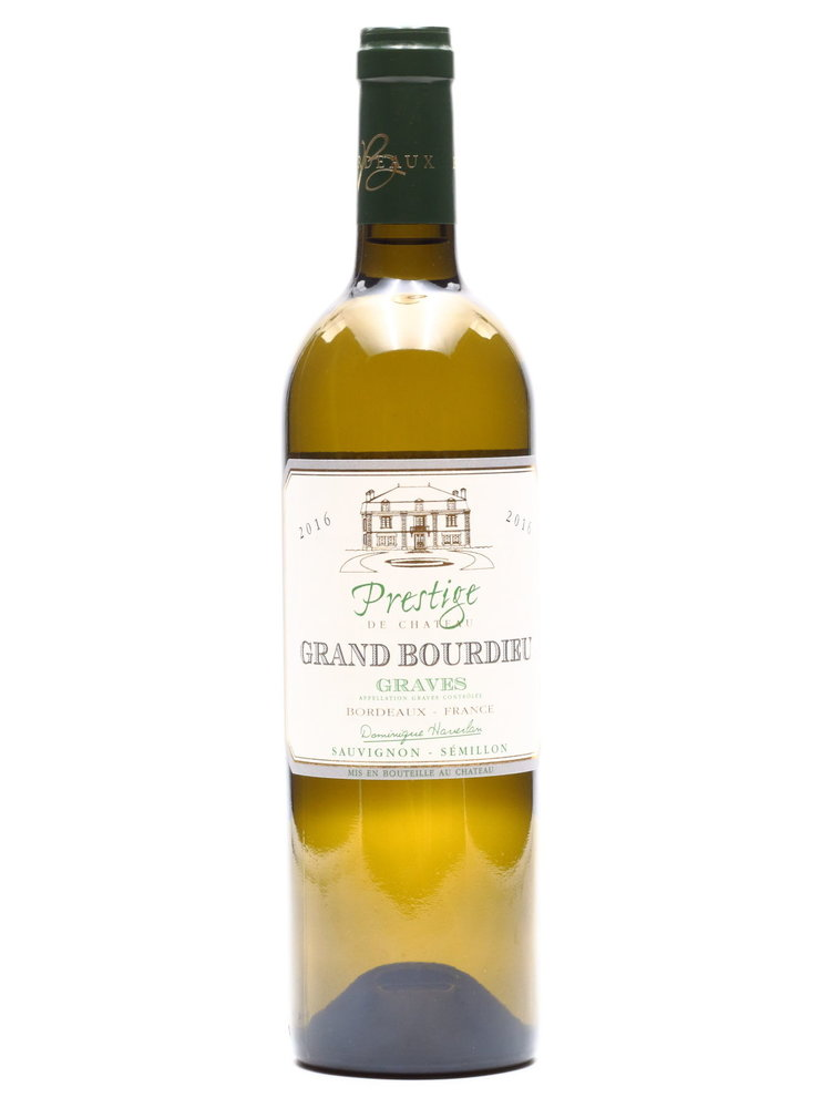 Dominique Haverlan - Ch Grand Bourdieu Prestige Blanc 2016