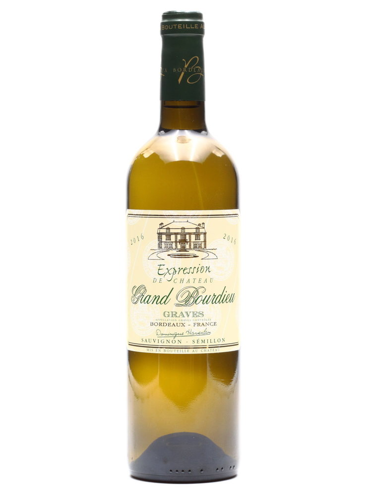 Dominique Haverlan - Ch Grand Bourdieu Expression Blanc 2016