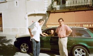 Met Wormser en Silvain Fadat