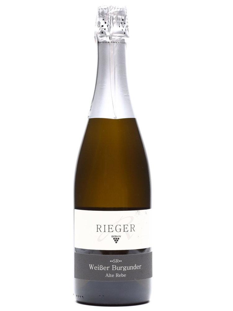 Rieger Weingut Rieger - Sekt Weißer Burgunder Alte Rebe Brut 2017