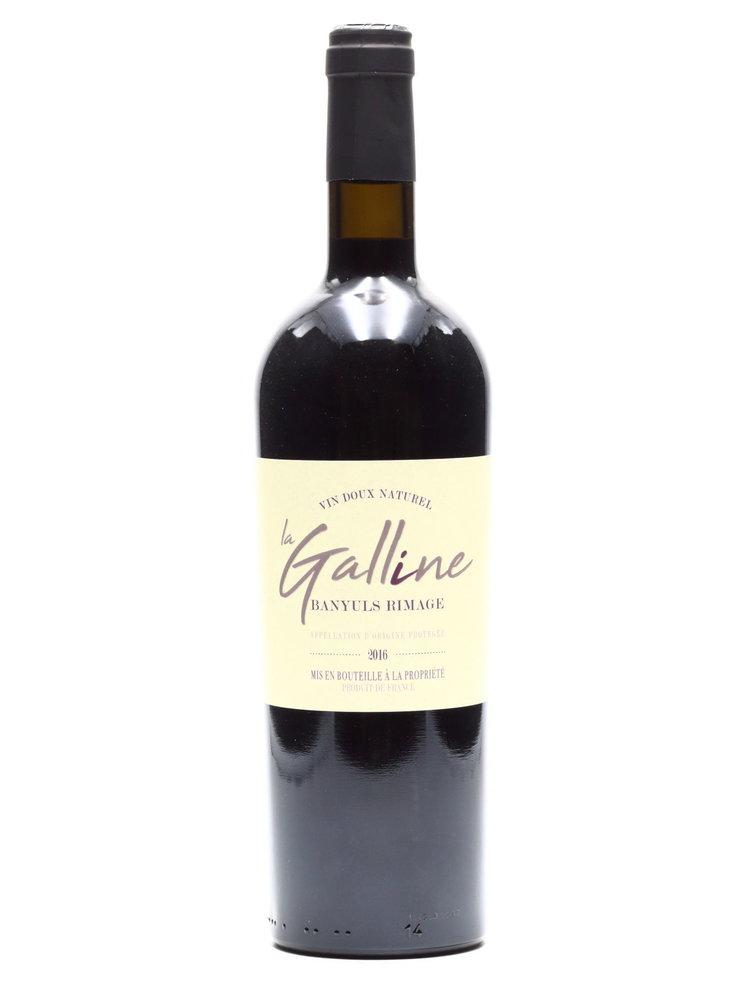 La Galline - Banyuls Dom. la Galline - Cuvée la Galline Vin Doux Naturel 2016
