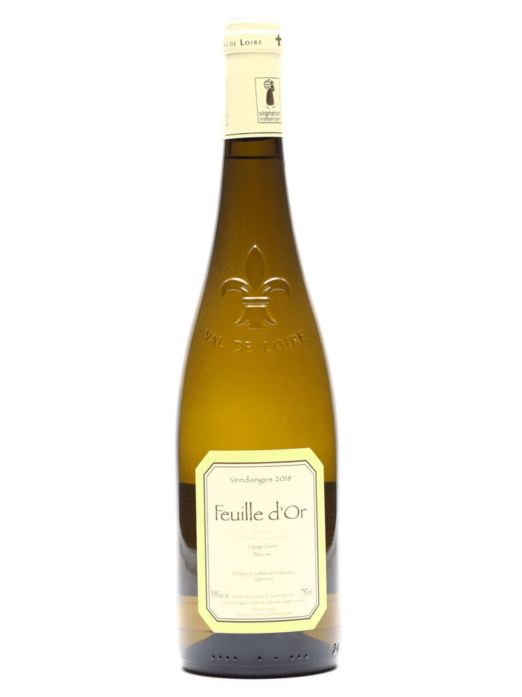 Delesvaux Delesvaux - Anjou Blanc Feuille dOr  (Dry) 2018
