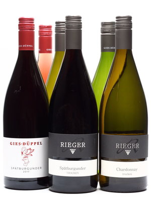 Gies Düppel BBQ Pakket XXL - 12 Big Bottles Duitse WIJN