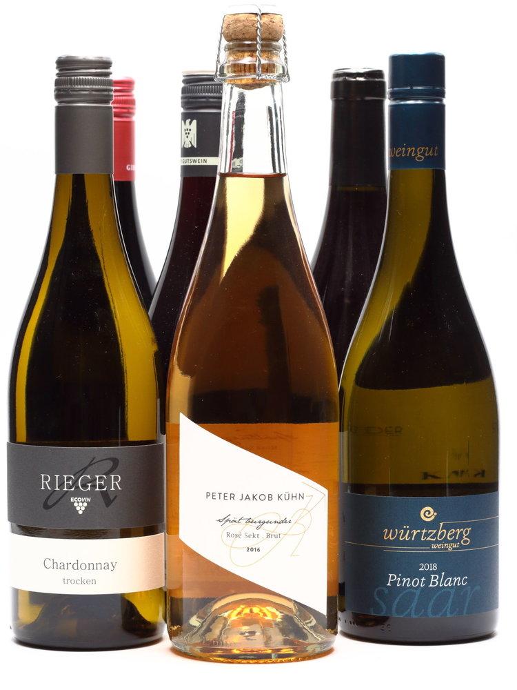 Culinair Kerst 6 flessen Duitse wijn
