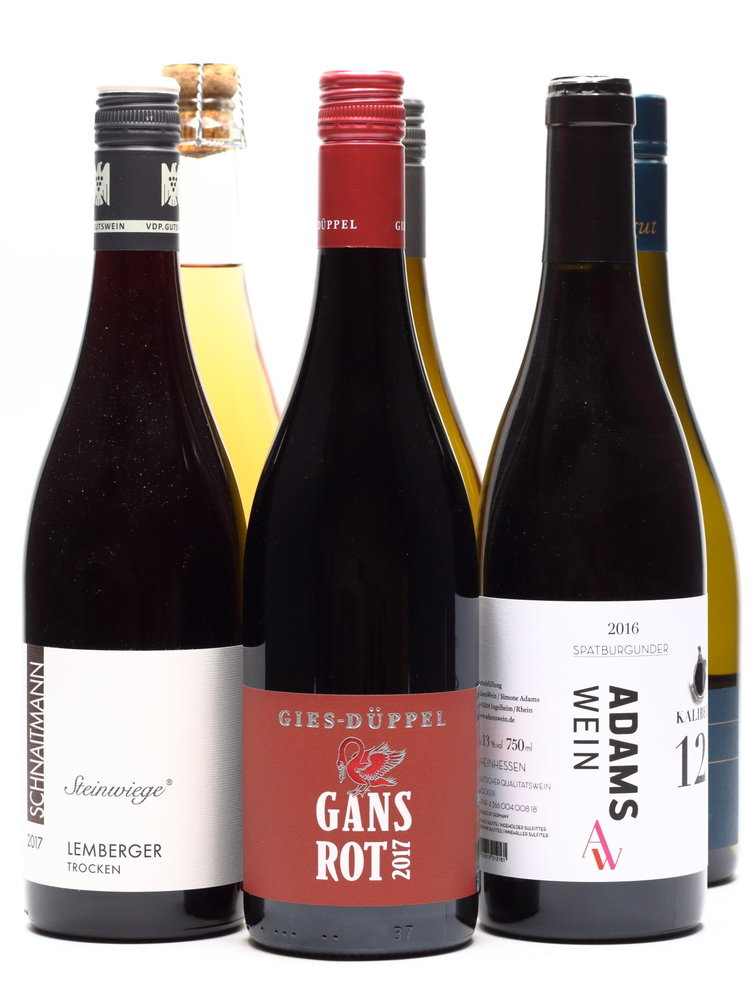 Culinair 6 flessen Duitse wijn