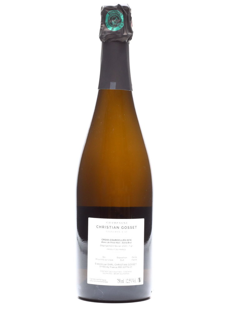 Christian Gosset Christian Gosset - Champagne Courcelles Ay P- Grand Cru 2016
