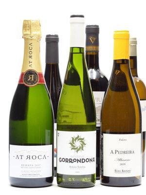 Culinair Kerst 6 flessen Spaanse wijn