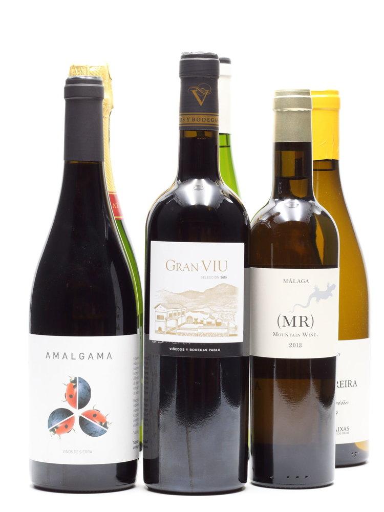 Culinair 6 flessen Spaanse wijn