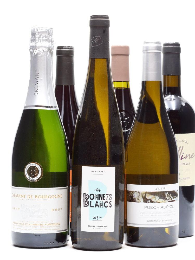 Culinair Kerst 6 flessen Franse wijn