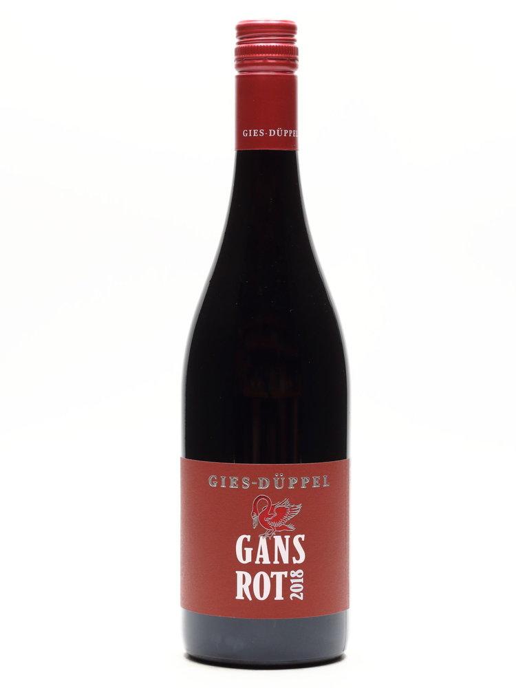 Gies Düppel Gies-Düppel  - Cuvée trocken GANS ROT 2018