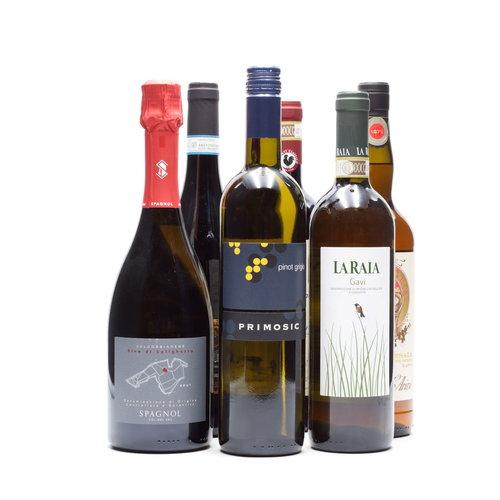 Culinair 6 flessen Italiaanse wijn