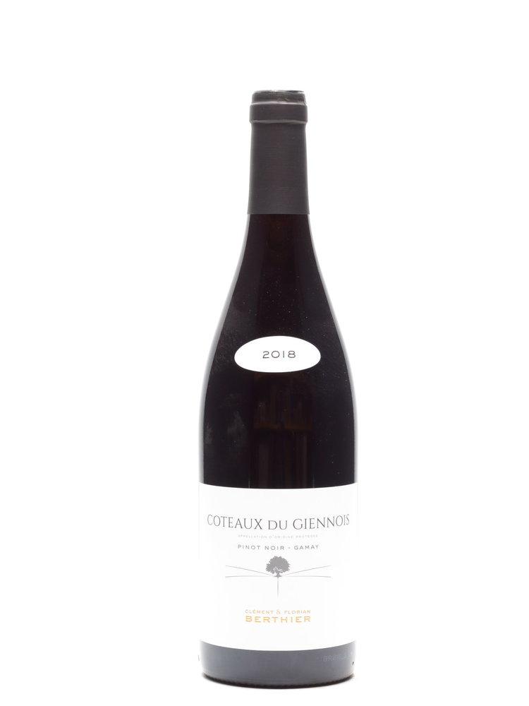 Vignobles Berthier Domaine de Montbenoit - Coteaux du Giennois Rouge 2018