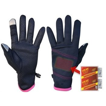 Heat Factory dames handschoen heated  -  Black(niet elektrisch)