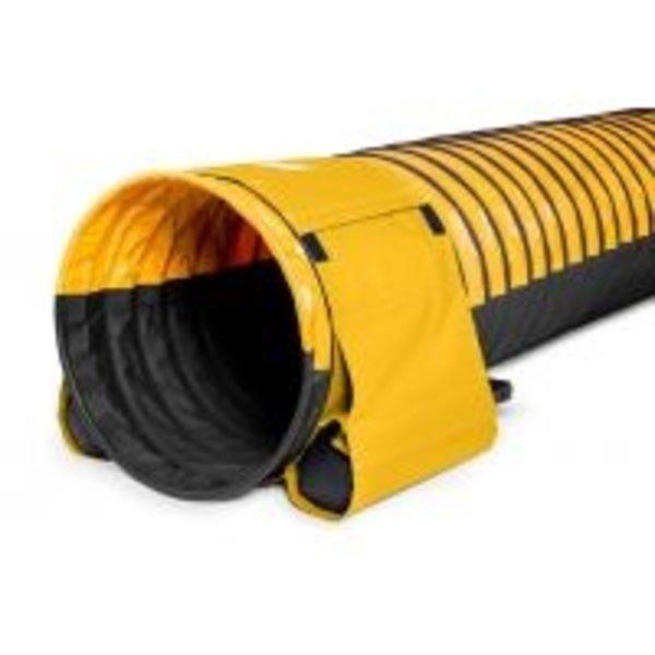 Tunnel van 5 meter met antislip materiaal voor hondentraining diameter 60 cm lengte 5 meter