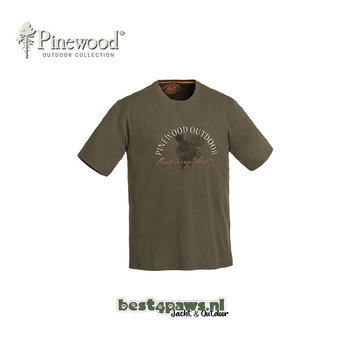 Pinewood Pinewood T-shirt Moose
