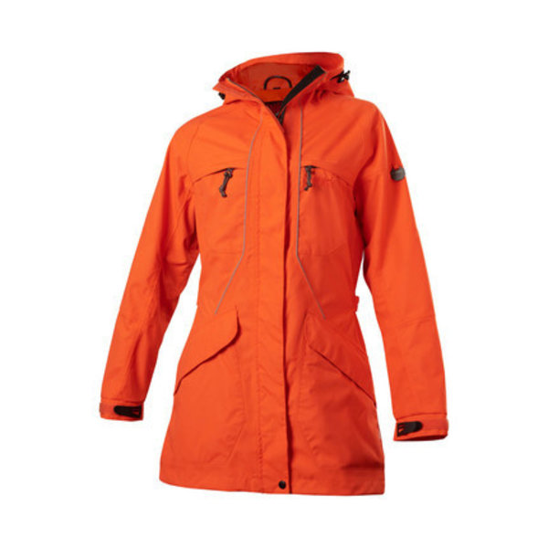 Owney Owney dames outdoor parka Tuvaq oranje